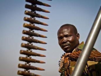 Une ville du Sud-Soudan bombardée