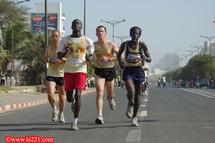 Un Sénégalais et une Gambienne en tête du semi-marathon de Dakar
