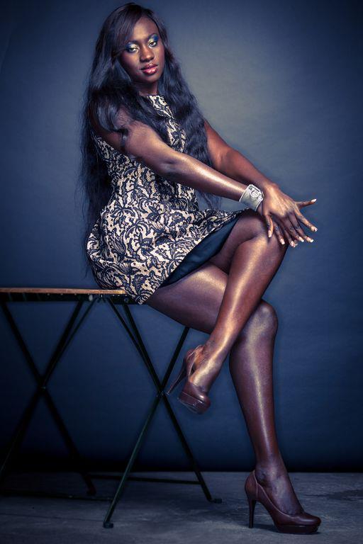 Photos: Mamy Diouf d'Helen Chic en mode mannequin Sexy