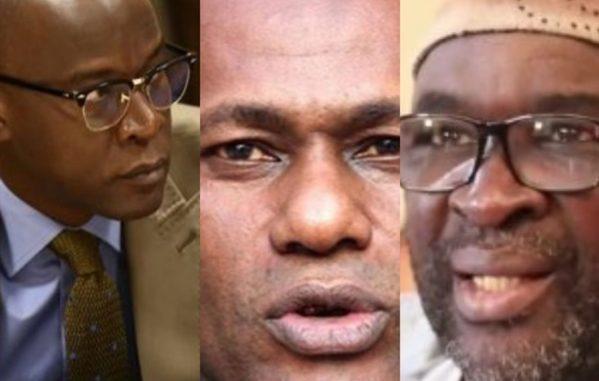 Youssou Touré, Moustpaha Cissé Lô et Yakham Mbaye ont fumé le calumet de la paix