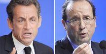 Sondages : Sarkozy et Hollande au coude à coude