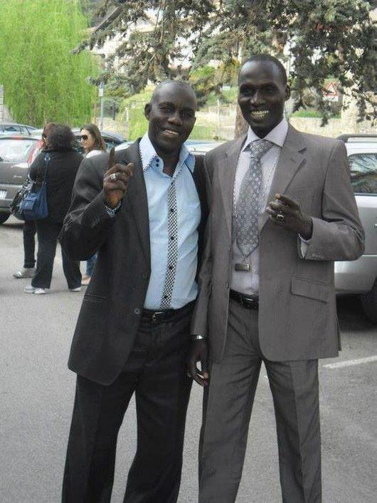 Baye Cheikh et Serigne Ngagne en toute élégance en Italie