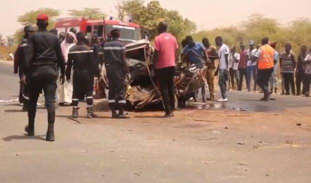 Louga: 5 personnes tuées dans des accidents en trois jours