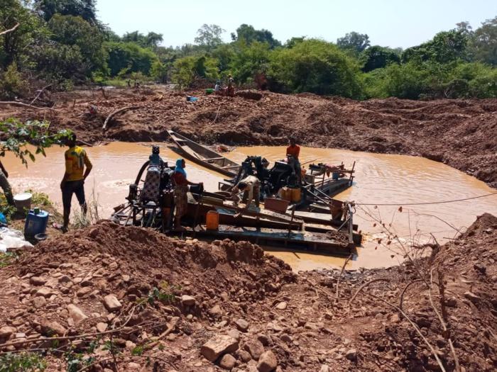 Kédougou: 7 individus arrêtés pour exploitation clandestine de minerais
