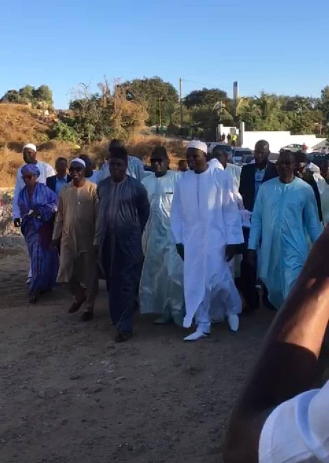 Visite de courtoisie: L'ex-maire de Dakar, Khalifa Sall a rencontré Me Abdoulaye Wade