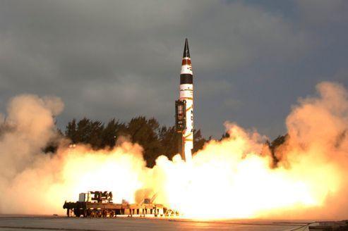 L'Inde tire un missile balistique de longue portée