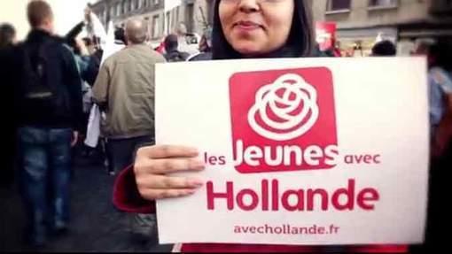 Hollande fait campagne au son de Jay-Z et Kanye West