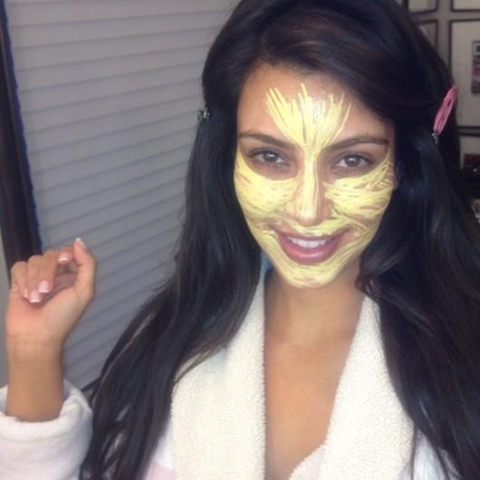 Kim Kardashian révèle un de ses secrets beauté