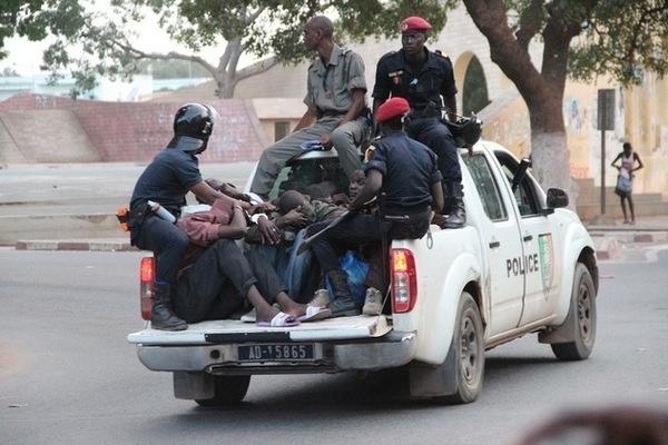 Thiès : La prison encerclée par les forces de l'ordre