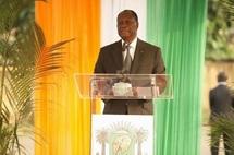 """""""Tous les meurtriers seront punis"""", assure le président ivoirien à Duékoué"""