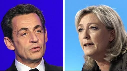 """Marine Le Pen accuse Sarkozy de """"récupération"""""""