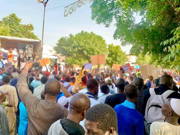 Guédiawaye: Nio Lank a déroulé sa caravane ce matin, un rassemblement prévu à Pikine dans l'après-midi