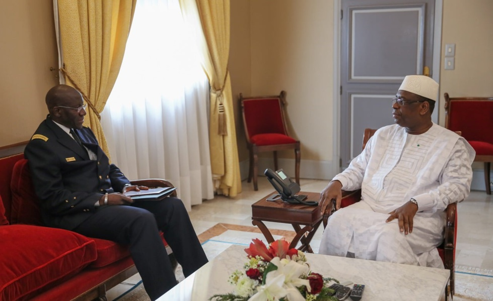 Macky Sall a reçu son nouveau chef d'Etat-major particulier