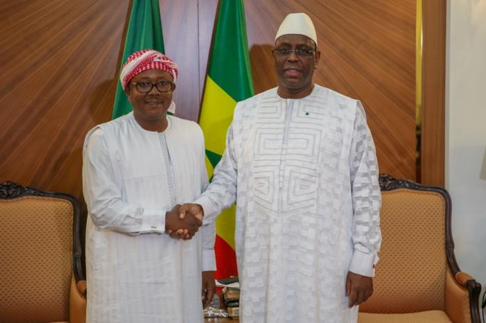 Palais de la république : Macky Sall reçoit Umaro Sissoco Embalo, le président nouvellement élu de la Guinée Bissau...