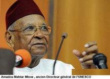 Amadou Mahtar Mbow invite à repenser l'ordre économique mondial