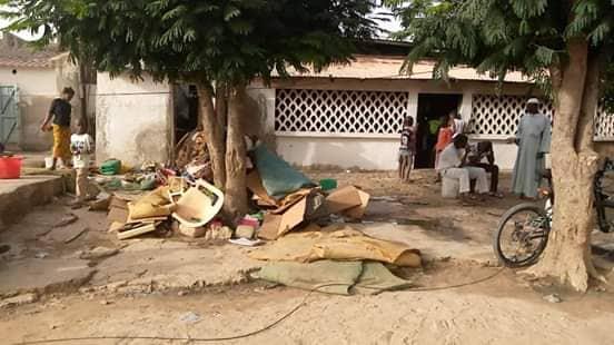 (PHOTOS)- Kaolack : Un compagnon de Mimi Touré perd sa maison