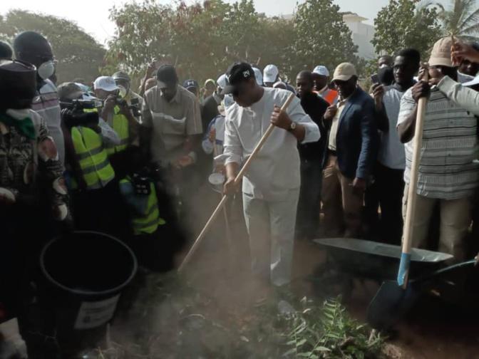 Cleaning Day: Fatick n'a pas répondu à l'appel de Macky Sall