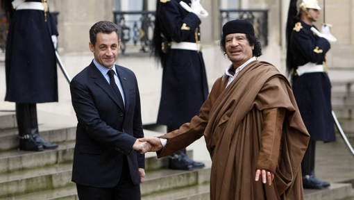 "Un ""deal secret"" entre Sarkozy et Kadhafi?"