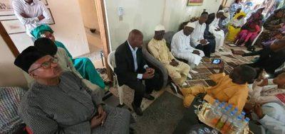 PHOTOS - Saint-Louis: Khalifa Sall rend une visite surprise à Cheikh Bamba Dièye