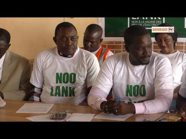 Préparation de sa marche de demain : Nio Lank en conférence de presse ce jeudi