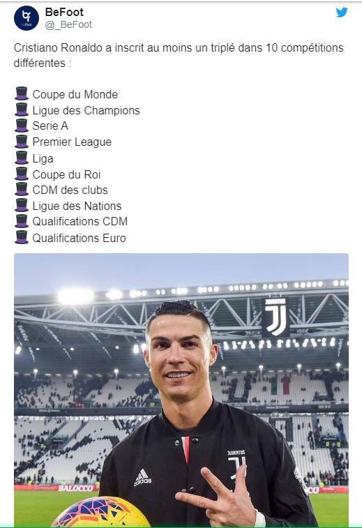 Cristiano Ronaldo et ses statistiques hallucinantes
