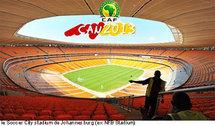 Johannesburg parmi les villes hôtes de la CAN 2013