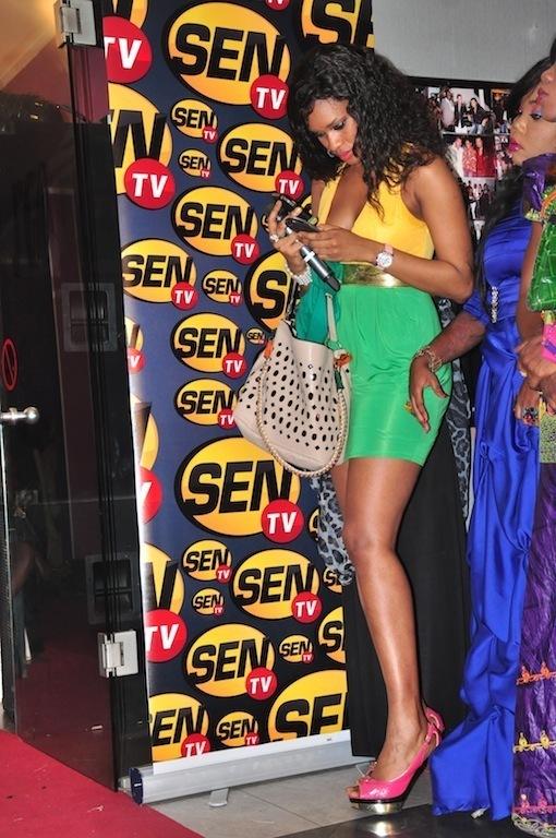 Ndeye Ndack élégante dans sa robe sexy