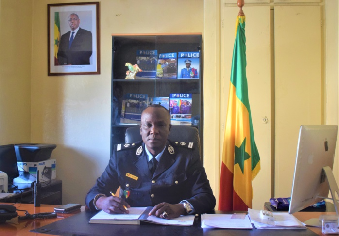 Nomination: Le lieutenant Ndiassé Dioum, nouveau porte-parole de la Police nationale