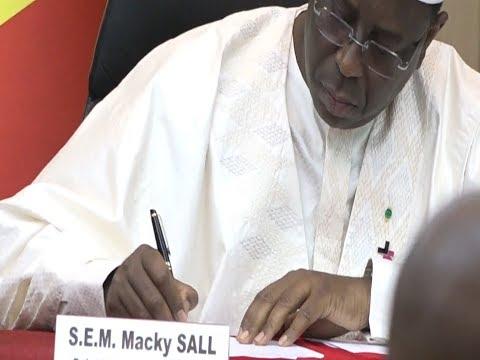 La loi contre le viol et la pédophilie promulguée: Macky Sall avertit les présumés coupables
