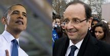 Hollande-Obama : le défi d'un agenda international chargé