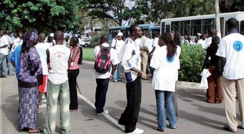 UCAD: l'Amicale des étudiants de la Faculté de Médecine, décrète 24 heures de grève