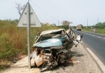 Un Accident Sur La Route De Mbour, Fait Un Mort Et Plusieurs Blessés Graves