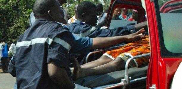 Accident à Kaffrine : 2 blessés dans un état critique
