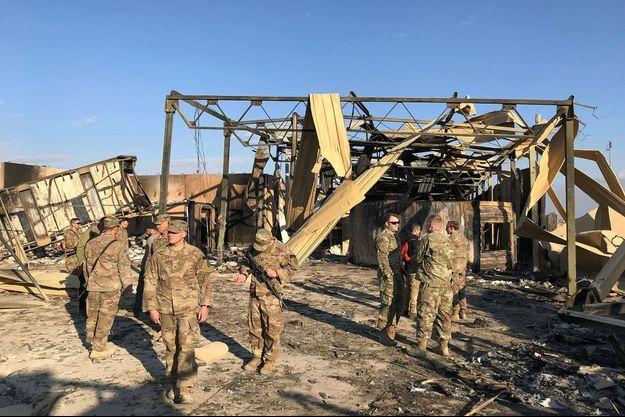 Attaque iranienne du 8 janvier : 11 soldats américains ont en fait été blessés