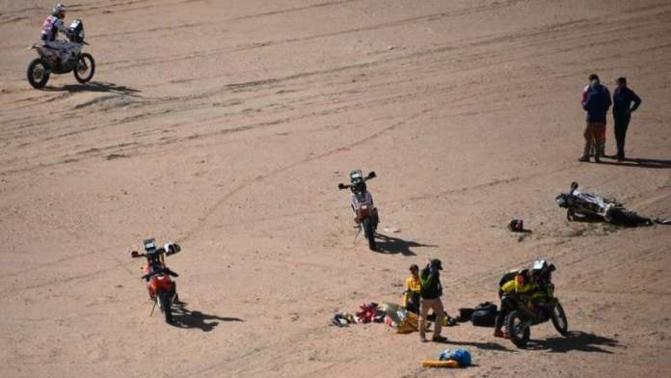Dakar 2020: Un pilote entre la vie et la mort après une chute sur la 11ème étape