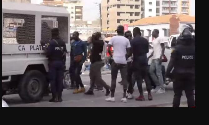 Collectif Ño Lànk : La liste des personnes arrêtées par la police ce samedi