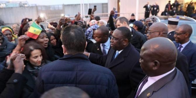 Londres: une manifestation improvisée contre Macky Sall