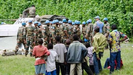 Onze Casques Bleus blessés par balles au Congo