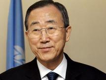 Ban Ki-moon préconsie des horaires de travail flexibles, au profit des familles