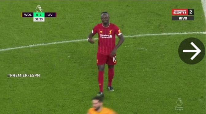 Liverpool: Sadio Mané sorti sur blessure