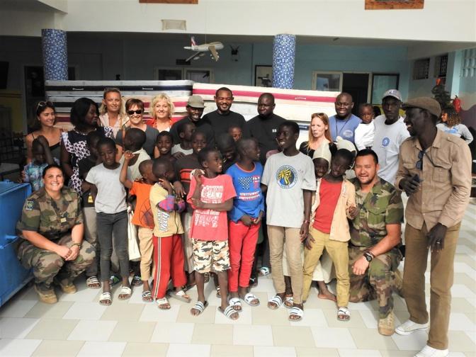 Association l'Empire des Enfants à Dakar : Dorénavant, chaque enfant aura son matelas