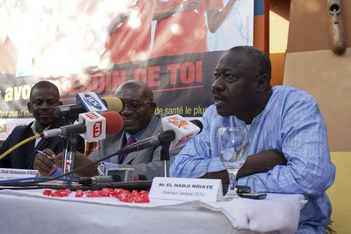 """Rupture de contrat avec l'ex roi des arènes - El hadj Ndiaye: """"Je dois d'abord parler à yékini"""""""