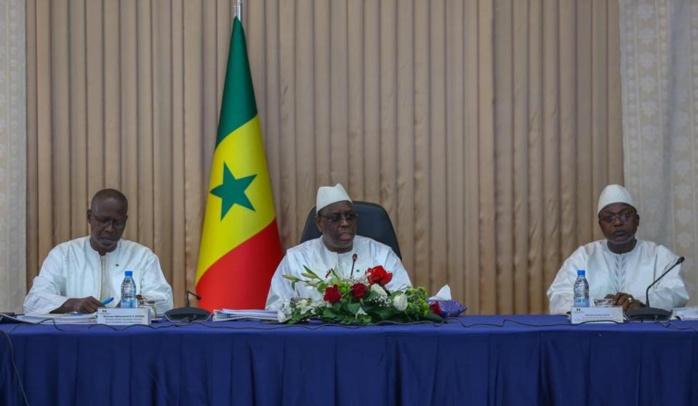 En images:Conseil présidentiel sur l'aménagement territorial