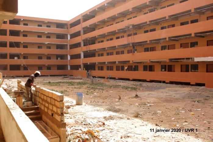 Marylis BTP/ Université Diamniadio - La sénégalaise Mame Diop persiste: