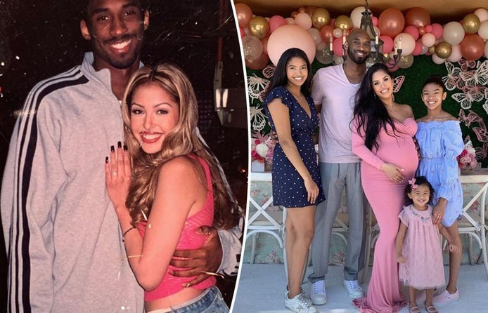 Kobe Bryant, son histoire d'amour avec Vanessa