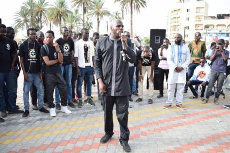 Kémi Séba s'annonce le 24 février 2020 à Dakar