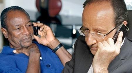 Registre de langue : Alpha Condé cesse de tutoyer François Hollande