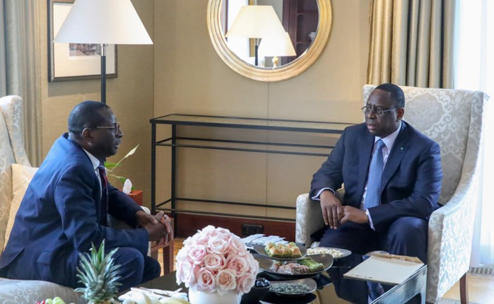 Allemagne: Ce que Macky Sall et  Karamba Diaby se sont dits
