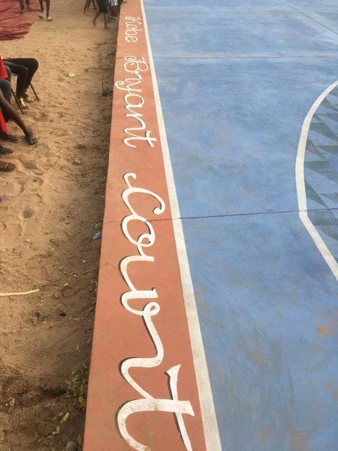 PHOTOS - Kaolack: Kobe Bryant, le nom donné au terrain de basket offert par le SEED