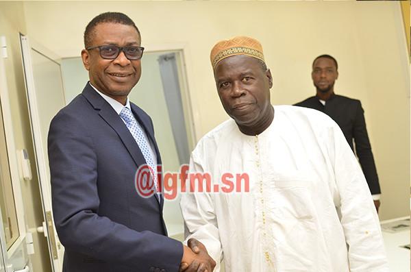 GFM:  Youssou Ndour recrute le doyen Mame Less Camara et le nomme Directeur de la TFM